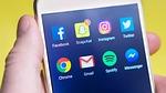 snapchat, social media, smartphone