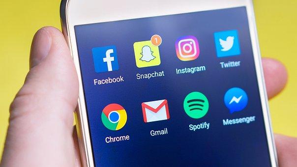 Snapchat, Social Media, Smartphone, Icon