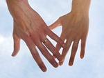 wedding, alliance, sky