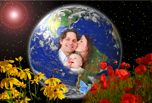 Earth, Blue Planet, Globe, Gaia