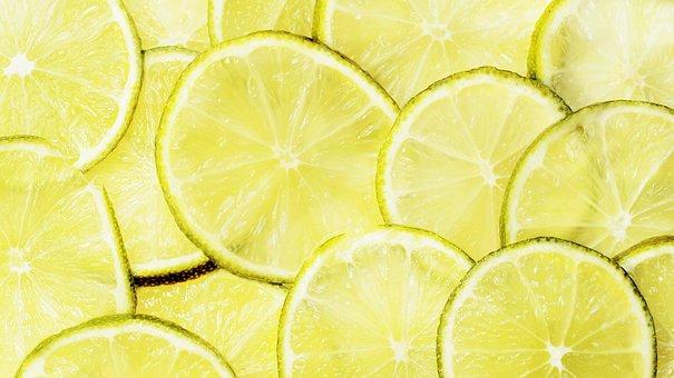 Lime, Lemons, Lime Slices, Citrus Fruit