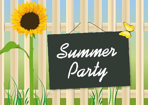 Sommerfest, Sun Flower, Garden, Summer