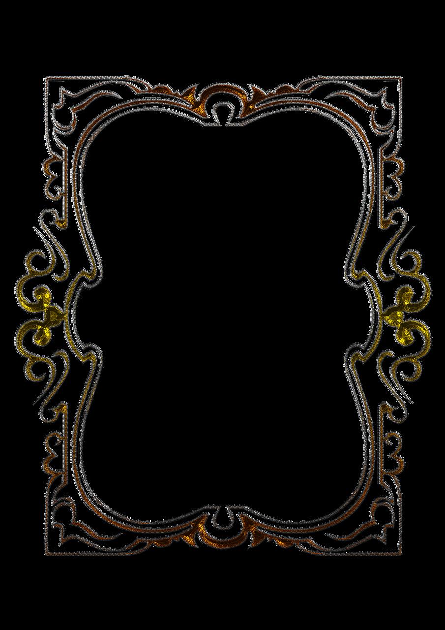 Рисунок рамки для фото, картинка