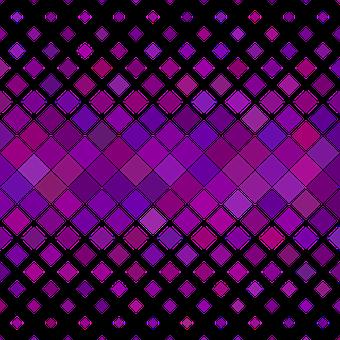 Pattern, Square, Purple, Horizontal