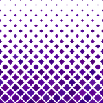 purple, diagonal, square