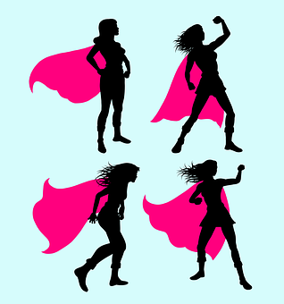 Superhero, Super, Hero, Girl, Costume