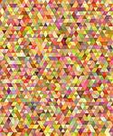 multicolored, colorful, triangle