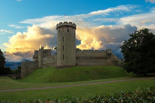O Castelo De Warwick, Forte, Warwick