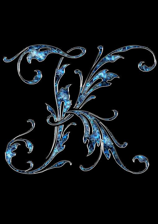 Brief, Letter K, K, Initialen, Lettertype, Alphabet