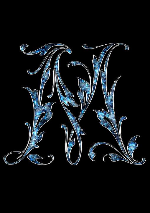 Kirje, M-Kirjain, M, Nimikirjaimet, Font, Aakkoset