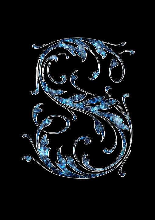 letter letter s s initials font alphabet
