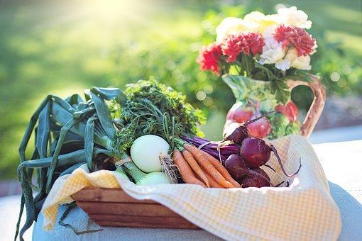 Gemüse, Zwiebeln, Karotten, Rüben