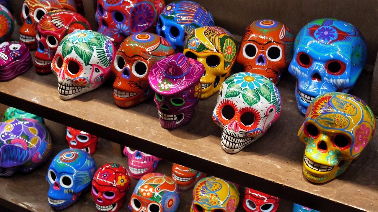 Calaveras Colorido Muertos - Foto gratis en Pixabay