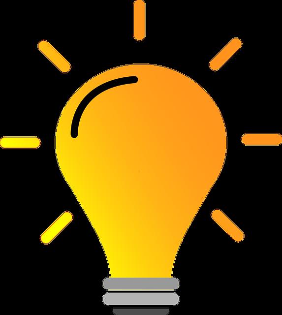 Lightbulb Bright Yellow · Free vector graphic on Pixabay