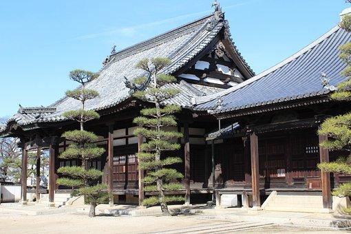 日本, 寺