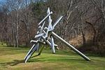 sculpture, modern, structure