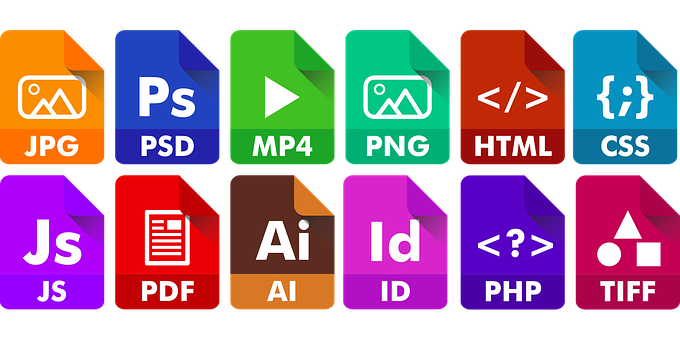 Icon, File, Extension, Document, Symbol