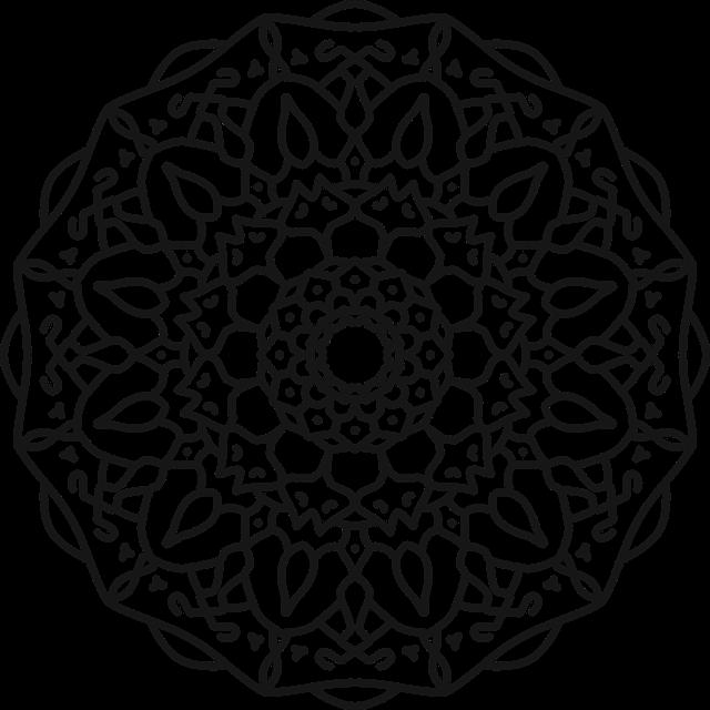 Mandala Design Ornament Free