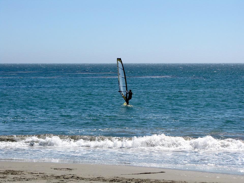 Californie, Santa Cruz, L'Eau, Côte, Le Tourisme, Surf