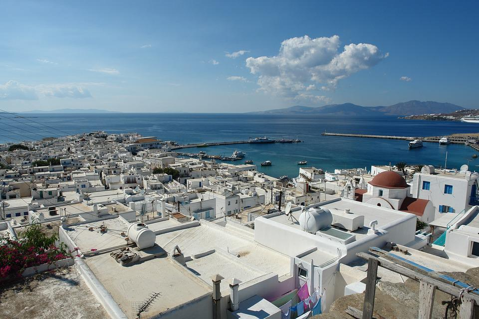 Mykonos in Greece