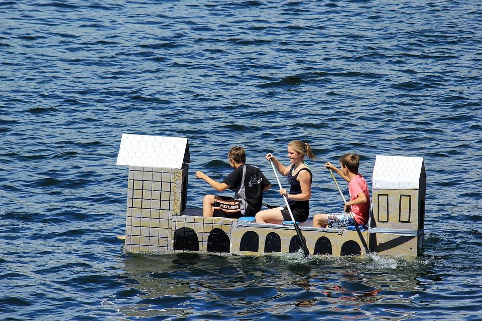 욕조 레이스, Edersee입니다, 댐, 북부 헤세, 호수, 장벽, 재미, 경쟁, 레이스