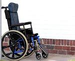 wheelchair, disability, lame