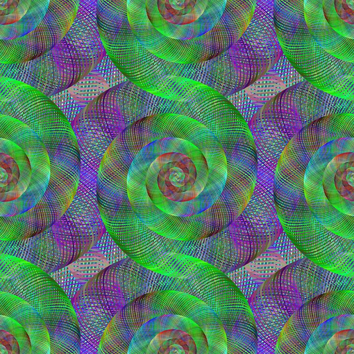 Fractal, Spiral, Swirl, Pattern, Digital, Design