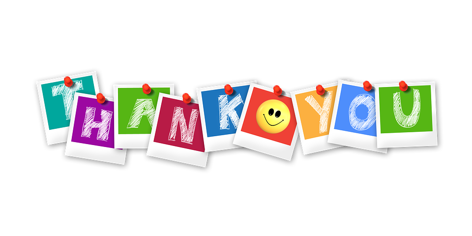 thank you polaroid letters free image on pixabay