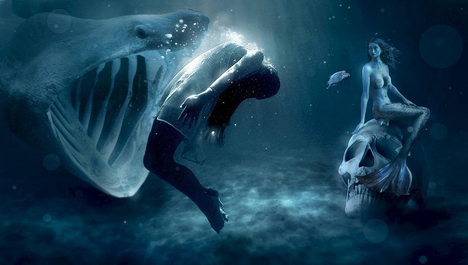 hai mermaid mystical free photo on pixabay