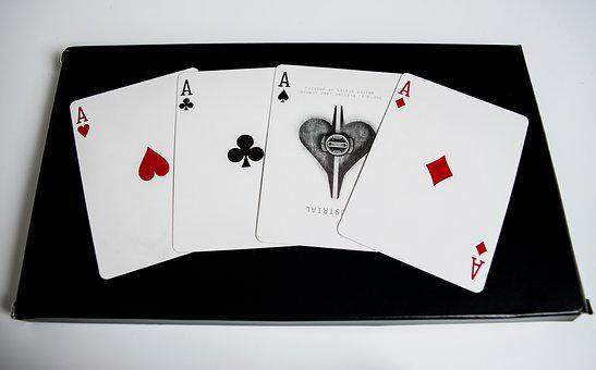 Poker, Letters, Deck, Casino, Money