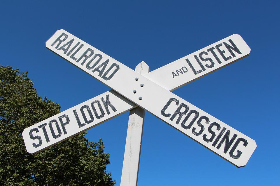 image about Railroad Crossing Sign Printable named Railroad Crossing - Totally free image upon Pixabay