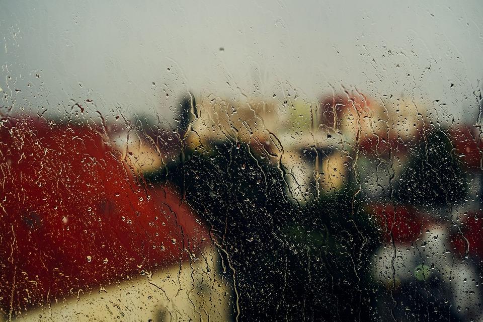 window rain raining free photo on pixabay