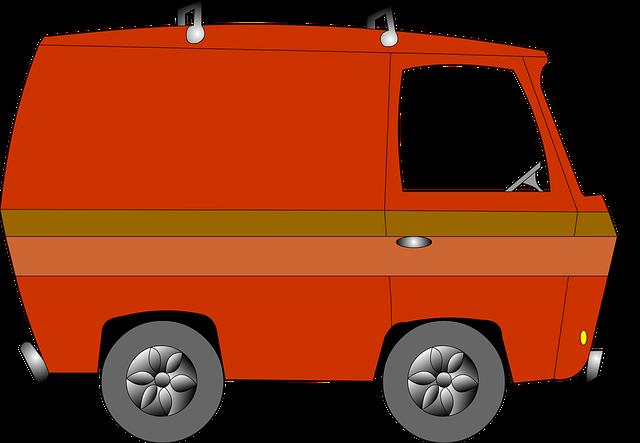 Vw Van 2017 >> รถตู้ วินเทจ การ์ตูน · กราฟิกแบบเวกเตอร์ฟรีบน Pixabay