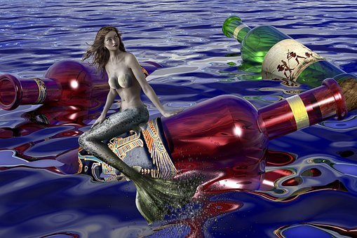Mermaid, Water, Water Creature, Mystical