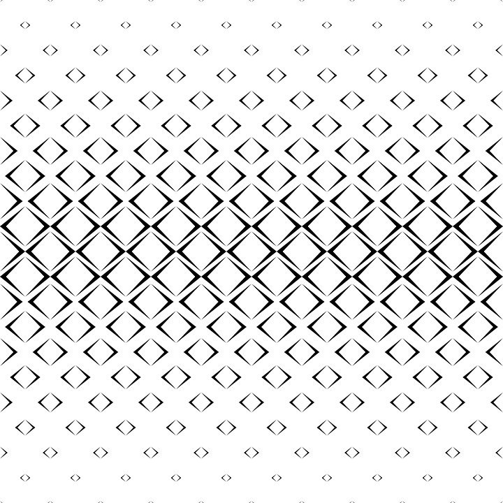 Pattern Monochrome Geometric - Free vector graphic on Pixabay