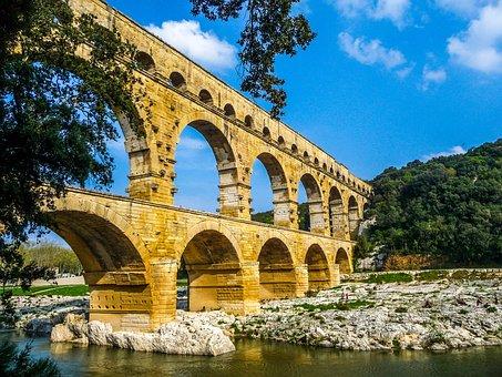 Pont Du Gard, Nimes, Arles, Ales