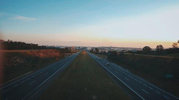 Road, Rent A Car, Light, Nature, Urban