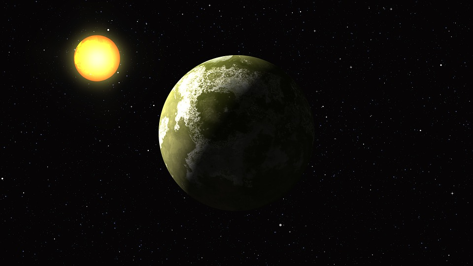 Planet Cosmos Sun 183 Free Photo On Pixabay