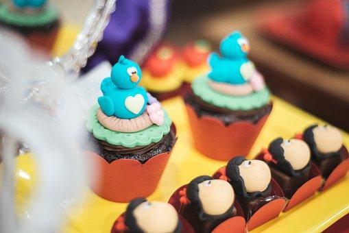 Decoration, Birthday, Theme, Snow White