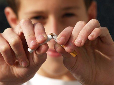 Nichtrauchen, Rauchstopp, Glimmstängel