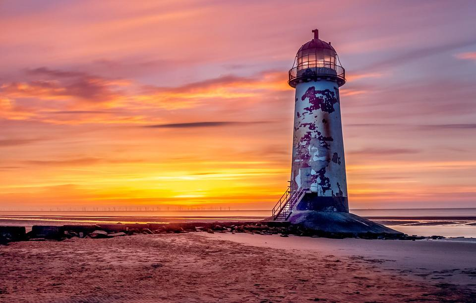 Lighthouse Talacre 183 Free Photo On Pixabay