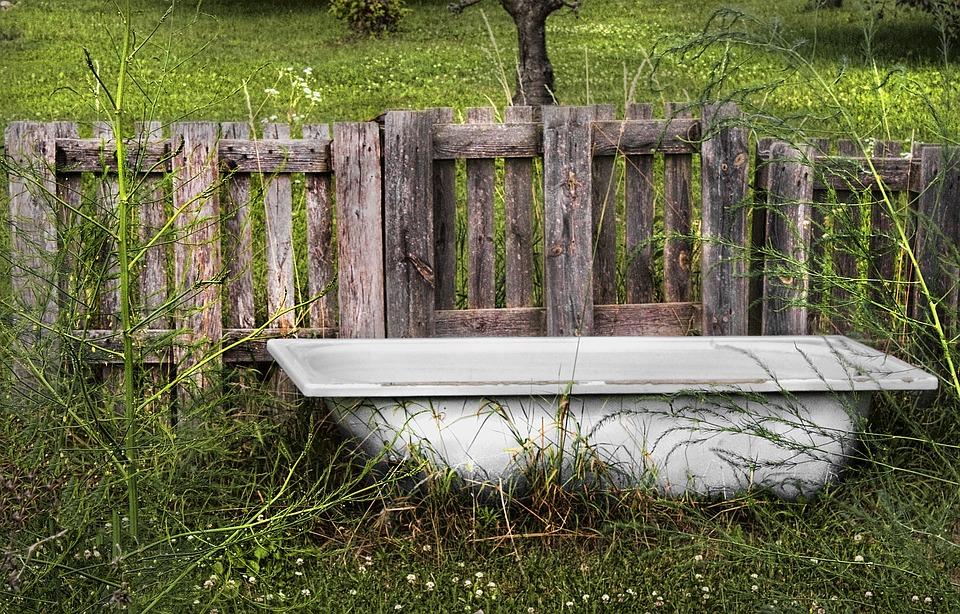 Bad badkuip tuin · gratis foto op pixabay
