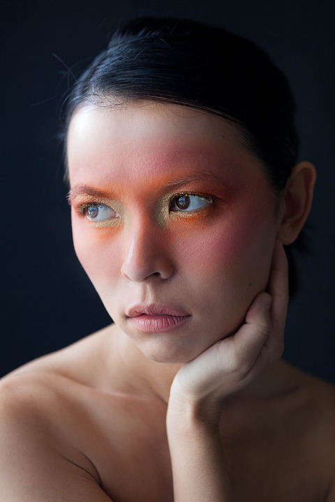 Asian face model