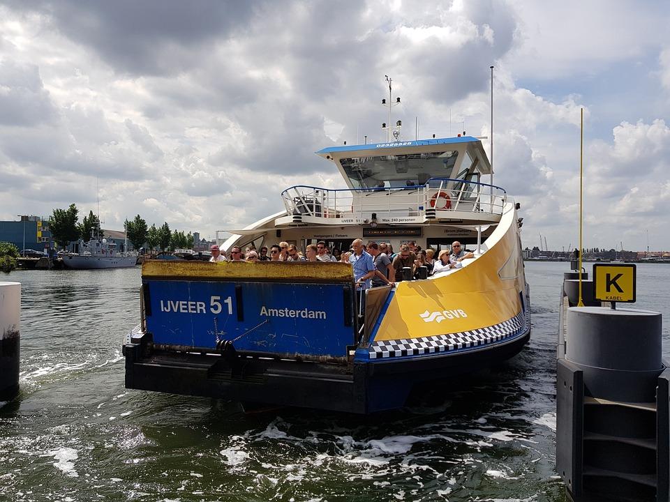 Ij, Ferry, Public Transport