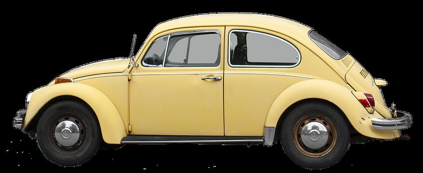 Isolated, Vw, 1200, Volkswagen