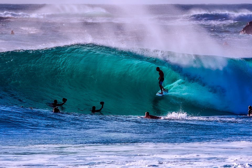 Surfing in Australia