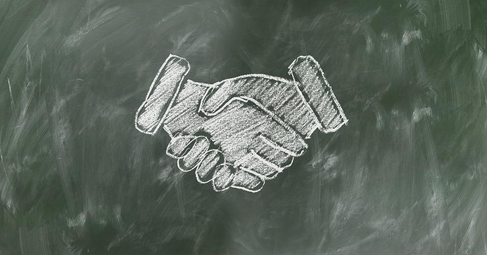 Shaking Hands, Handshake, Teamwork, Staff, Team, Board