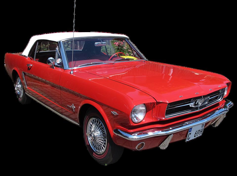 2017 Ford Ranger >> Ford Mustang Oldtimer · Free photo on Pixabay