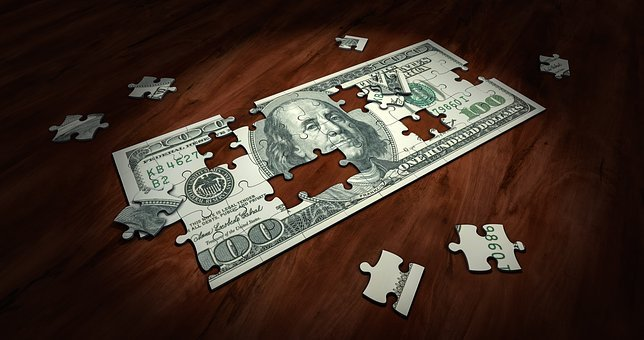 Puzzle, Money, Business, Finance