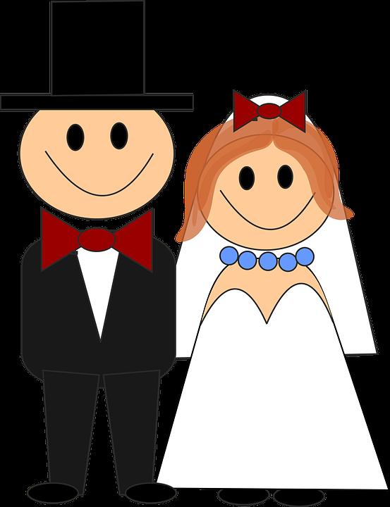 Hochzeit Brautpaar Hochzeitspaar Kostenlose Vektorgrafik Auf Pixabay